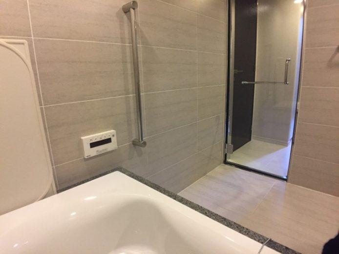 浴槽からの見え方