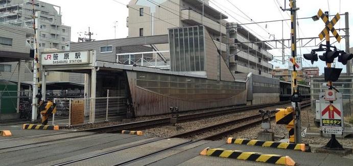 JR鹿児島本線 笹原駅