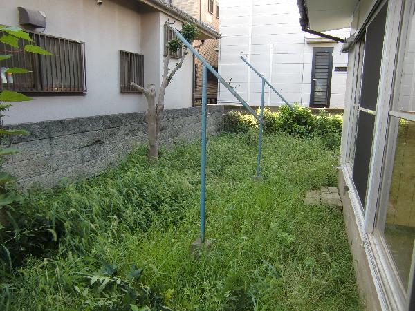福岡の空家の草刈りも心配で