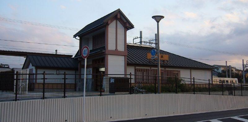 福岡市東区 西鉄貝塚線名島駅