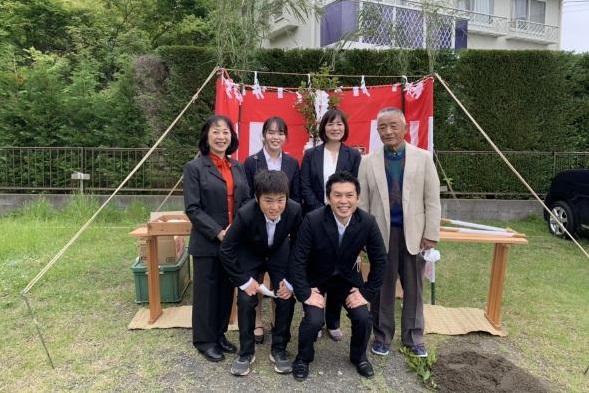 神奈川県鎌倉市土地地鎮祭