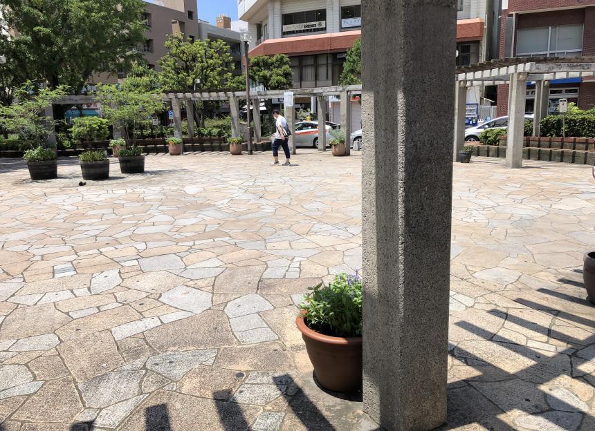 大橋駅前がこんなにきれいになりました2020