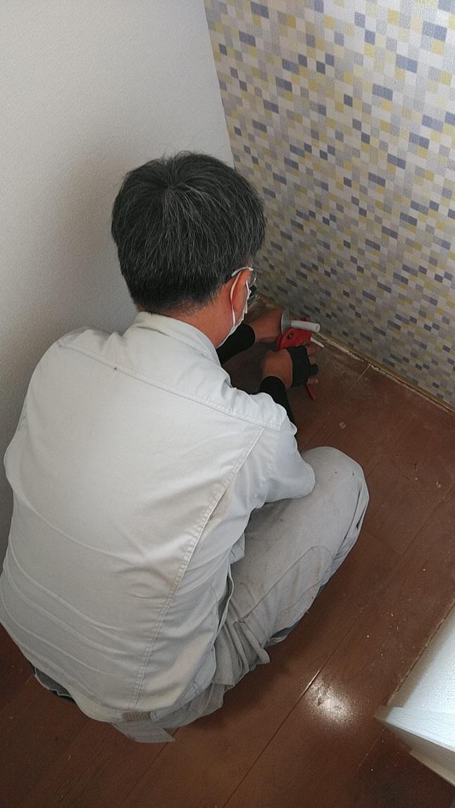 新築一戸建てトイレ配管なおし後