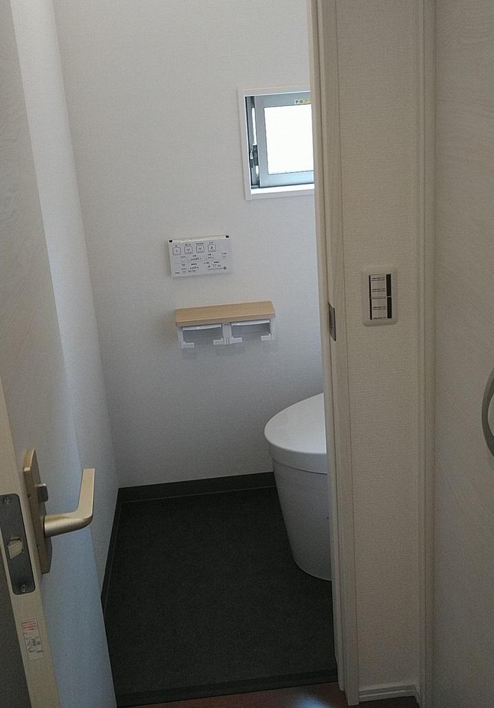 新築一戸建てトイレ改修後1