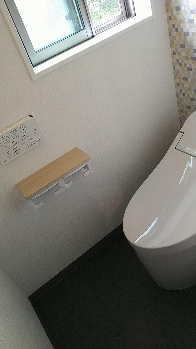 新築一戸建てトイレ改修後2
